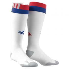 Olympique Lyon Home Socks 2017-18