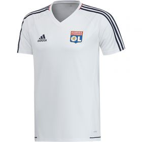 Olympique Lyon Training Jersey - White