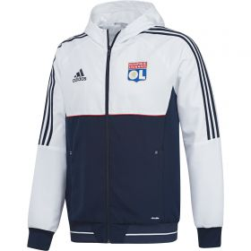 Olympique Lyon Training Presentation Jacket - White