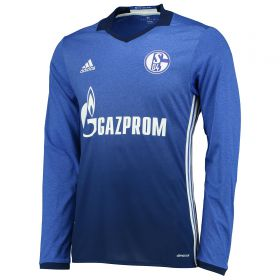 Schalke 04 Home Shirt 2016-17 - Long Sleeve