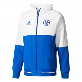 Schalke 04 Training Presentation Jacket - Blue - Kids