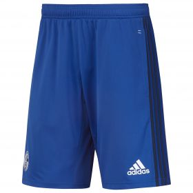 Schalke 04 Training Short - Blue - Kids
