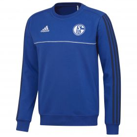 Schalke 04 Training Sweat Top - Blue - Kids