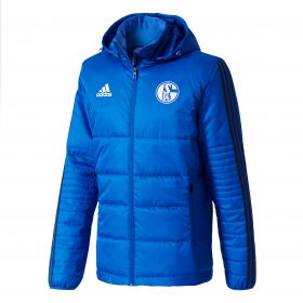 Schalke 04 Training Winter Jacket - Blue