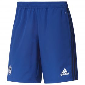 Schalke 04 Training Woven Short - Blue
