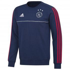Ajax Training Sweat Top - Dark Blue