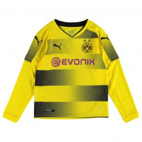 BVB Home Shirt 2017-18 - Kids - Long Sleeve