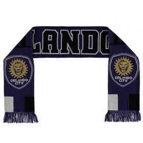 Orlando City SC Jacquard Scarf - Blue