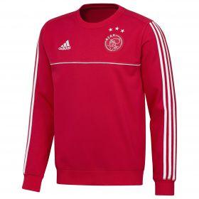 Ajax Training Sweat Top - Red