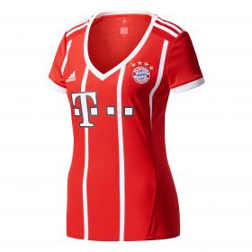 Bayern Munich Home Shirt 2017-18 - Womens with Sanches 35 printing