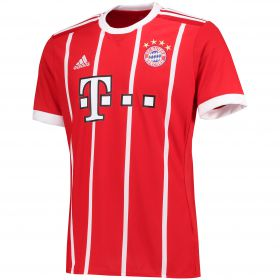 Bayern Munich Home Shirt 2017-18 with Müller 25 printing