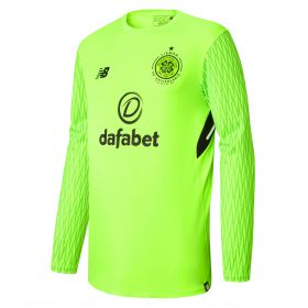 Celtic Home Goalkeeper Shirt 2017-18 - Long Sleeve