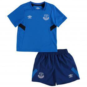 Everton Infant Training Kit - Electric Blue/Sodalite Blue/Black