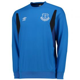 Everton Training Drill Top - Junior - Electric Blue/Sodalite Blue/Black