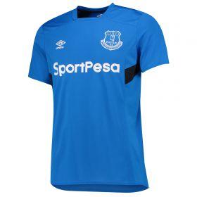 Everton Training Jersey - Electric Blue/Black
