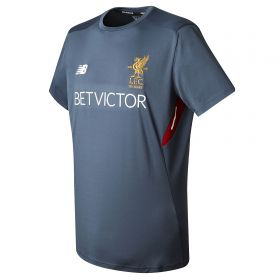Liverpool Elite Training Motion Top - Thunder