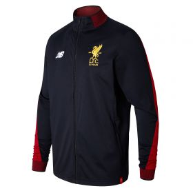 Liverpool Elite Training Presentation Jacket - Black