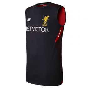 Liverpool Elite Training Vest - Black