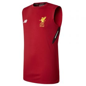 Liverpool Elite Training Vest - Red Pepper
