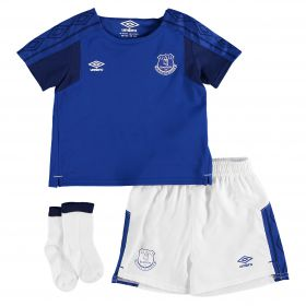 Everton Home Baby Kit 2017/18 with Bešic 21 printing
