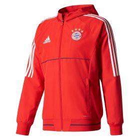 Bayern Munich Training Presentation Jacket - Red