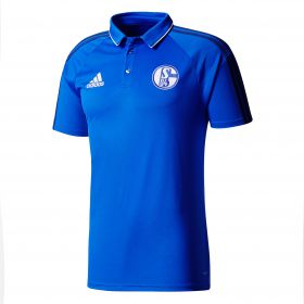 Schalke 04 Training Polo - Blue - Kids