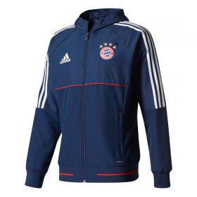 Bayern Munich Training Presentation Jacket - Navy