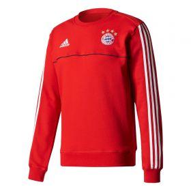 Bayern Munich Training Sweat Top - Red