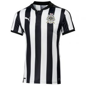 Newcastle United Home Shirt 2017-18 - Kids with Colback 4 printing
