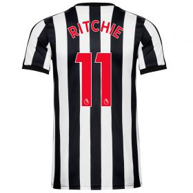 Newcastle United Home Shirt 2017-18 - Kids with Ritchie 11 printing