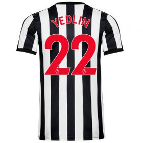 Newcastle United Home Shirt 2017-18 - Kids with Yedlin 22 printing
