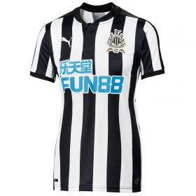 Newcastle United Home Shirt 2017-18 - Womens with Shelvey 12 printing