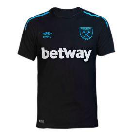 West Ham United Away Shirt 2017-18 with Feghouli 7 printing