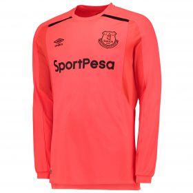 Everton Goalkeeper Home Shirt 2017/18 with Pickford TBC printing