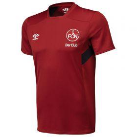 FC Nurnberg Training Ss Jersey - Biking Red/Black