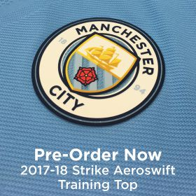 Manchester City Strike Aeroswift Training Top - Navy