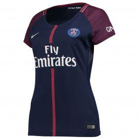 Paris Saint-Germain Home Stadium Shirt 2017-18 - Womens with Verratti 6 printing