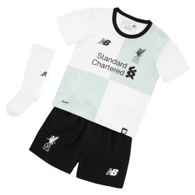 Liverpool Away Infant Kit 2017-18 with M.Salah 11 printing
