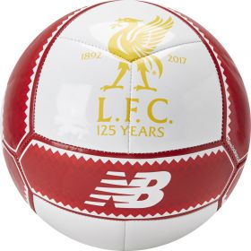 Liverpool Dispatch Ball - Size 5 - White/Red Pepper