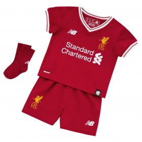 Liverpool Home Baby Kit 2017-18 with M.Salah 11 printing