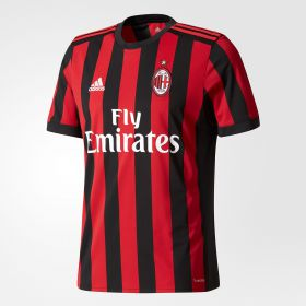 AC Milan Home Shirt 2017-18 with Suso 8 printing