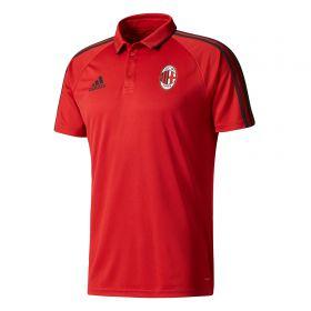 AC Milan Training Polo - Red