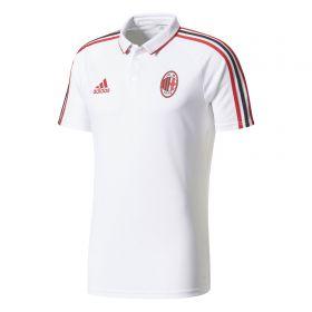 AC Milan Training Polo - White