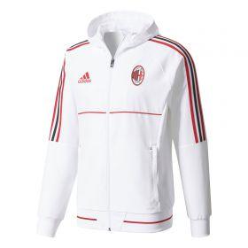 AC Milan Training Presentation Jacket - White