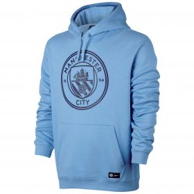 Manchester City Core Hoodie - Light Blue
