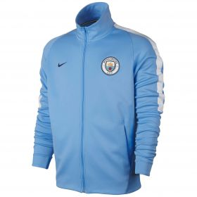 Manchester City Franchise Jacket - Light Blue
