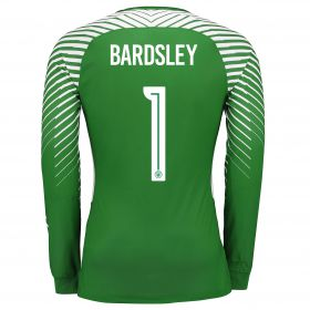 Manchester City Goalkeeper Cup Shirt 17-18 - Kids with Bardsley 1 printing