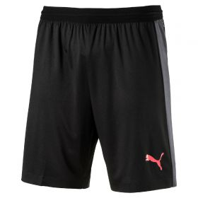 Puma EvoTRAINING Tech Short - Puma Black/Ebony/Fiery Coral