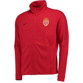 AS Monaco Authentic Franchise Jacket - Red