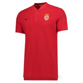 AS Monaco Authentic Grand Slam Polo - Red